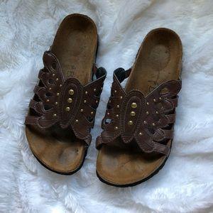 Birkenstock Butterfly Sandals Size 8